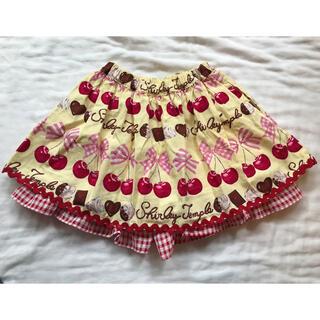 Shirley Temple - シャーリーテンプル チェリーチョコ キュロットスカート 110サイズ