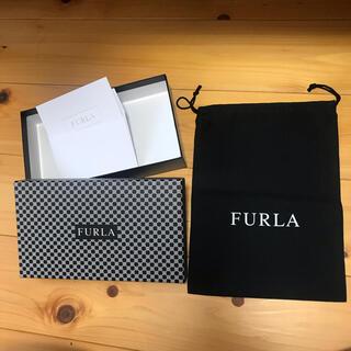 フルラ 黒 保存袋 箱 メッセージカード