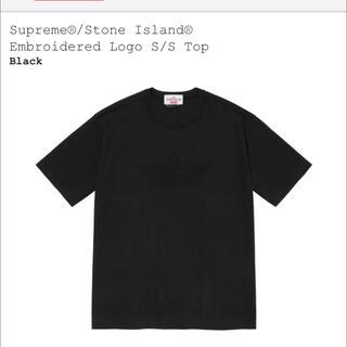 Supreme - シュプリーム ストーンアイランド Tee Tシャツ ブラック 黒 XL