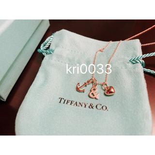ティファニー(Tiffany & Co.)のTiffany&Co. ホープ&ラブ ペンダント 18K ゴールド(ネックレス)