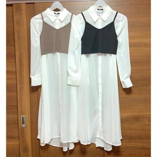 ジェイダ(GYDA)のSALE♡ビスチェ+ロングシャツ♡ZARA ANAP GYDA RESEXXY(ニット/セーター)