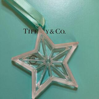 ティファニー(Tiffany & Co.)の未使用 ティファニー オーナメント 星 クリスタルガラス(その他)