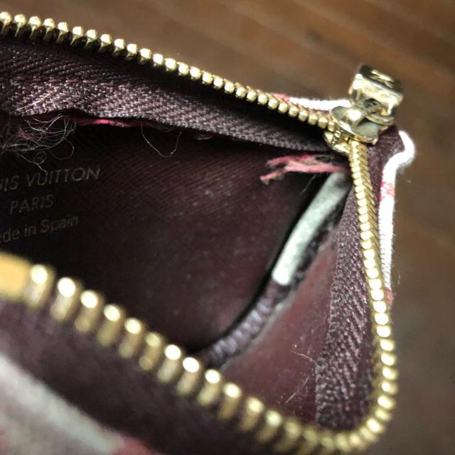 LOUIS VUITTON(ルイヴィトン)のルイヴィトン モノグラム ミニ ポシェットクレ コインケース レディースのファッション小物(コインケース)の商品写真
