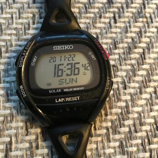 セイコー(SEIKO)のセイコースーパーランナーズ ソーラー電池(中古)(腕時計(デジタル))