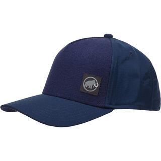 マムート(Mammut)のMAMMUT マムート アウトドア帽子 アルナスカ キャップ青 メンズL新品(登山用品)