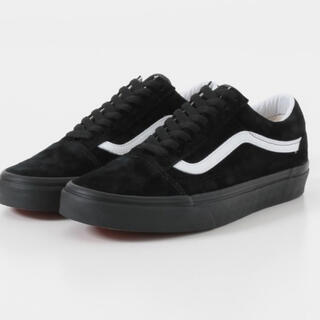 VANS - Vans old Skool black 27.0cm ブラックスウェード