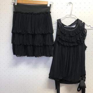 スコットクラブ(SCOT CLUB)のスコットクラブ 上下セット 新品 結婚式(ミディアムドレス)