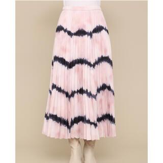 ファーファー(fur fur)の新品FURFURファーファー★タイダイプリーツスカート(ロングスカート)