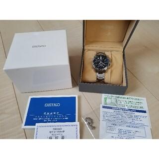 セイコー(SEIKO)のセイコー ブライツ ワールドタイム ソーラー電波 メンズ  SAGA145 美品(腕時計(アナログ))