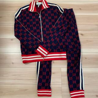 Gucci - GGジャガード コットンジャケット ジョギングパンツ セットアップ