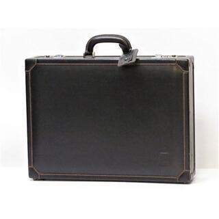 ダンヒル(Dunhill)のダンヒル アタッシュケース ブリーフケース 黒 ブラック イタリア製(ビジネスバッグ)