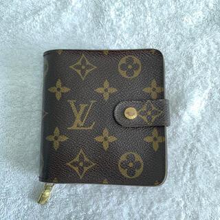 ルイヴィトン(LOUIS VUITTON)のLOUIS VUITTON 折り財布 コンパクトジップ モノグラム ルイヴィトン(財布)