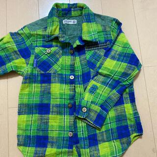 ラグマート(RAG MART)のラグマート ネルシャツ110cm(Tシャツ/カットソー)