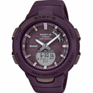 ベビージー(Baby-G)のカシオ Baby-G 歩数計測 モバイルリンク機能 腕時計 ブラウン(腕時計)