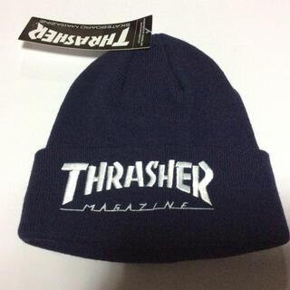 スラッシャー(THRASHER)のThrasher  ニット帽 新品 スラッシャー(ニット帽/ビーニー)