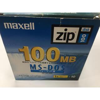 Maxell Zip Disk 100MB マクセル ジップ 10枚