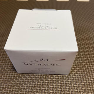 マキアレイベル(Macchia Label)のプロテクトバリアリッチc(オールインワン化粧品)