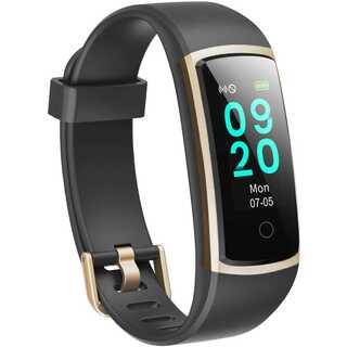スマートウォッチ 最新 歩数計 活動量計 スマートブレスレット IP68防水 (腕時計(デジタル))