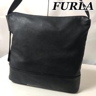 Furla - 2010-36 / フルラ ショルダー バッグ レザー 本革 ブラック