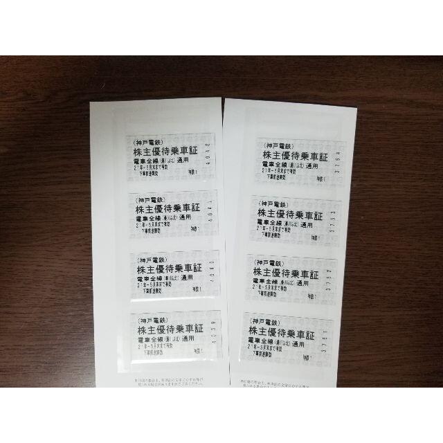 【専用】神戸電鉄★株主優待乗車証8枚 チケットのチケット その他(その他)の商品写真