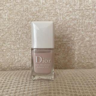 ディオール(Dior)の美品 ディオール ネイル アブリコ800(ネイルトップコート/ベースコート)