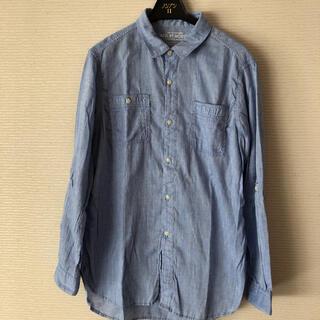 アズールバイマウジー(AZUL by moussy)の水色 カジュアルシャツ (シャツ/ブラウス(長袖/七分))