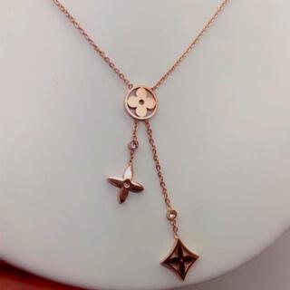 ZARA - 可愛いピンクゴールド ネックレス