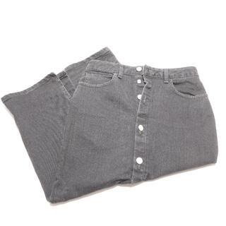 ロンハーマン(Ron Herman)の[Ron Herman] ブラックのスカート レディースXSサイズ(ひざ丈スカート)