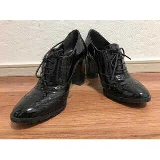 バークレー(BARCLAY)のエナメル レースアップシューズ(ローファー/革靴)