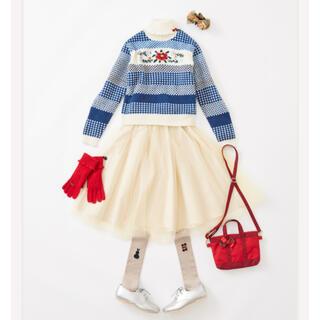 familiar - 新品タグ付き 現行品 完売 ファミリア   セーター スカート 160