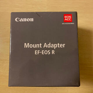 Canon - canon EF-EOS R マウントアダプター RF