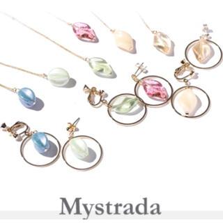 マイストラーダ(Mystrada)のMystrada♡新品♡ピアス&ネックレス♡2点セット(ピアス)