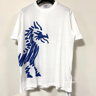 エルメス(Hermes)の国内正規品 未使用 エルメス ドラゴン 半袖Tシャツ 2019FW〜 (Tシャツ/カットソー(半袖/袖なし))