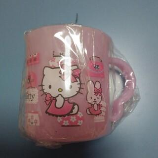 サンリオ(サンリオ)のキティ プラコップ☆ 新品未使用(マグカップ)