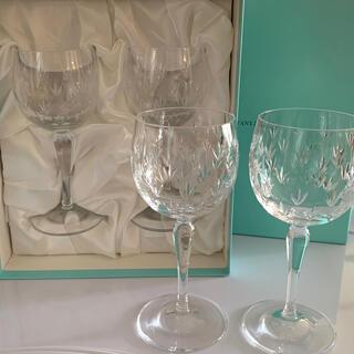 ティファニー(Tiffany & Co.)のティファニーワイングラス4脚セット(食器)