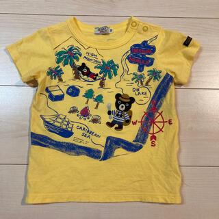 ダブルビー(DOUBLE.B)のミキハウス ダブルビー 半袖Tシャツ 90 トレジャーハンター 黄色(Tシャツ/カットソー)