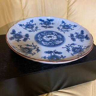 タチキチ(たち吉)の橘吉の綺麗な大皿です。未使用のまま食器棚に保管しておりました。(食器)