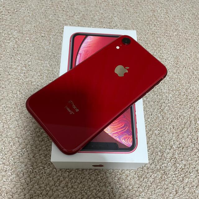 iPhone(アイフォーン)のiPhoneXR 128GB 美品 SIMフリー スマホ/家電/カメラのスマートフォン/携帯電話(スマートフォン本体)の商品写真