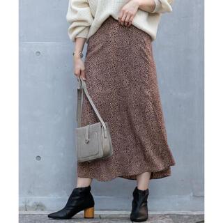 カプリシューレマージュ(CAPRICIEUX LE'MAGE)のCAPRICIEUX LE'MAGE レオパード スカート(ロングスカート)