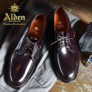 Alden - オールデン Alden 990C Shell Cordovan