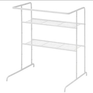 イケア(IKEA)の未使用 IKEA RASSLIG ラッスリグ シェルフユニット ハンガーレール付(棚/ラック/タンス)