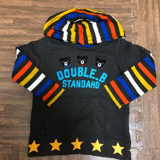 ダブルビー(DOUBLE.B)のsize100 double B トップス(Tシャツ/カットソー)