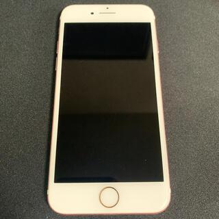 iPhone - Iphone7 32GB 本体 ローズゴールド