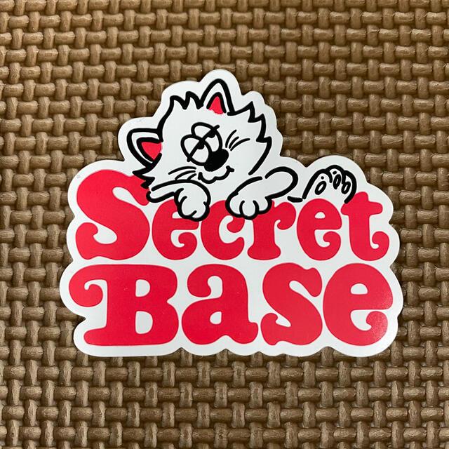 SECRETBASE(シークレットベース)のVERDY SECRET BASE 非売品 ステッカー メンズのファッション小物(その他)の商品写真