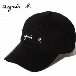 agnes b. - 新品タグ付きアニエスベーキャップ ブラック