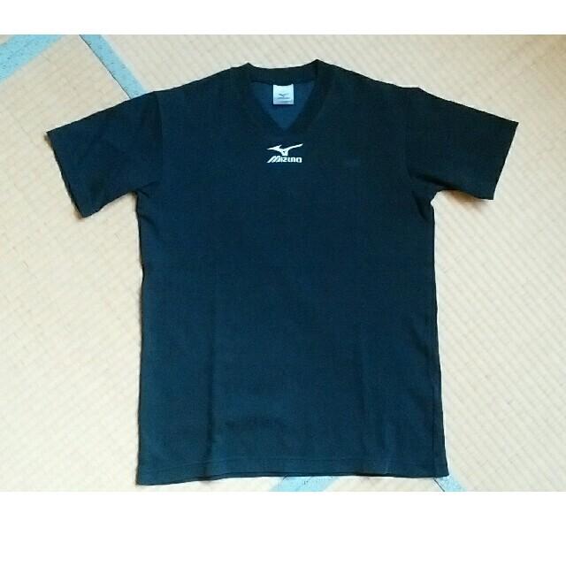 MIZUNO(ミズノ)のご予約品 MIZUNO Vネックシャツ 黒色Mサイズ スポーツ/アウトドアのスポーツ/アウトドア その他(バレーボール)の商品写真