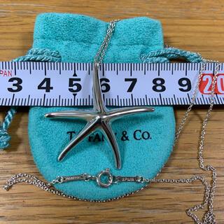 ティファニー(Tiffany & Co.)のティファニー スターフィッシュ ヒトデ ラージ 大きめ ビッグ ネックレス(ネックレス)