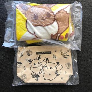 ポケモン - ミスド ポケモン ブランケット mister Donut トートおまけ
