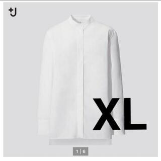 UNIQLO - UNIQLO ジルサンダー スーピマコットンスタンドカラーシャツ