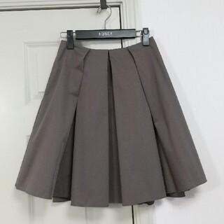 FOXEY - フォクシー FOXEY ココアブラウン グログランスカート 38サイズ